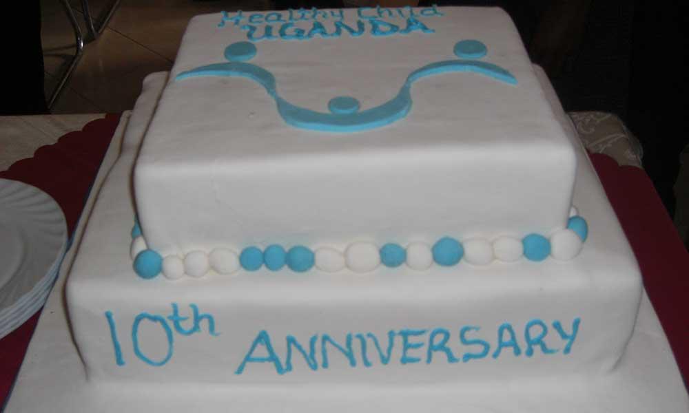 HCU 10th Anniversary Cake